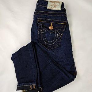 True Religion Dark Blue Skinny Jeans